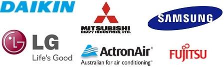 aircon brands logos
