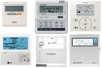 Daikin Ducted Air Conditioner Control Panel Manual Sante