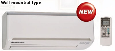 mitsubishi-split system air conditioner