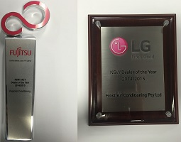 Fujitsu and LG NSW Dealer of year 2014/2015!