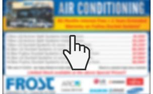 Air Conditioner Specials