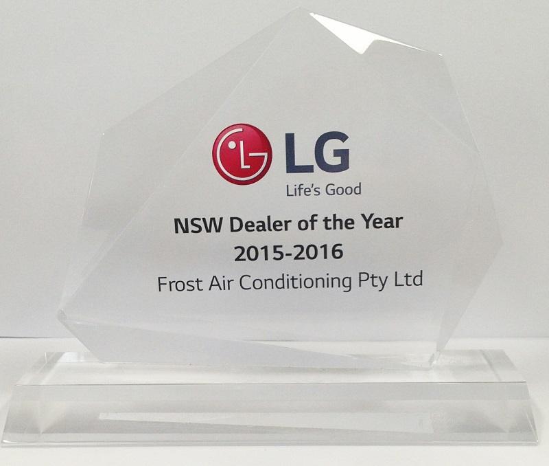 LG Dealer award