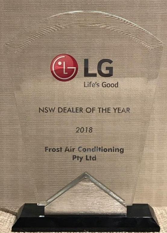 lg aircon dealer award 2018