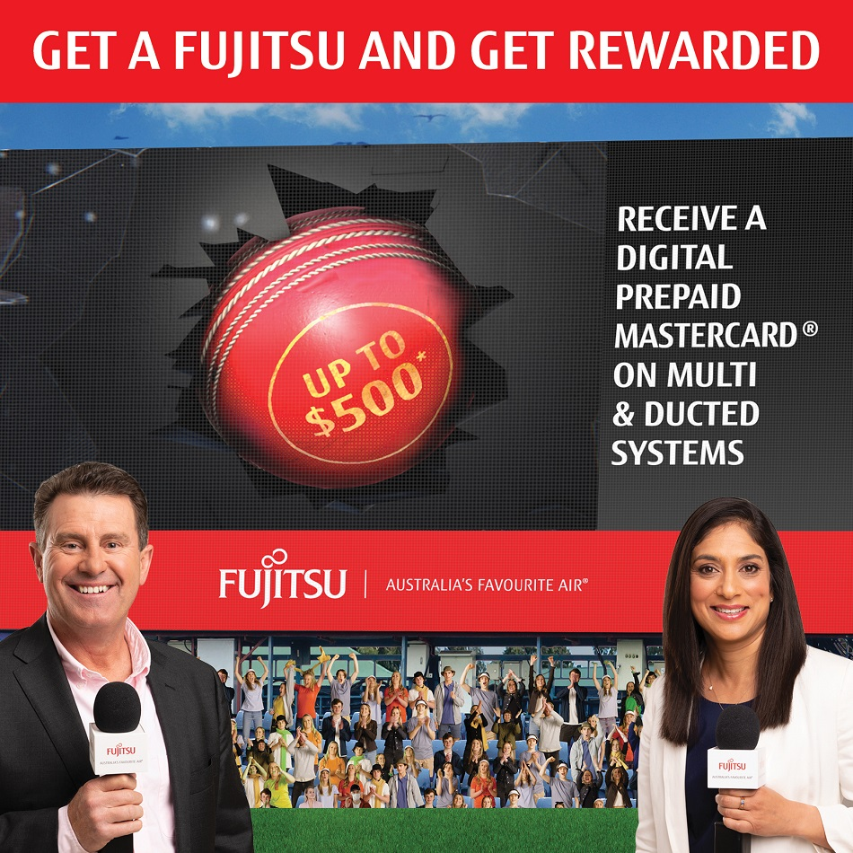 Fujitsu Mastercard promotion